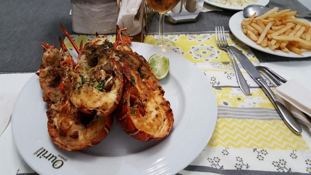…aaand still the same fried shrimps based on the menu