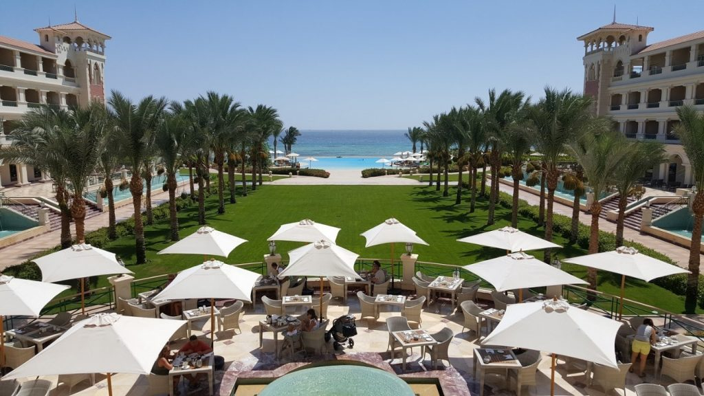 Cheap, luxury hotels and the Red Sea. The two main reasons why people are coming to Egypt