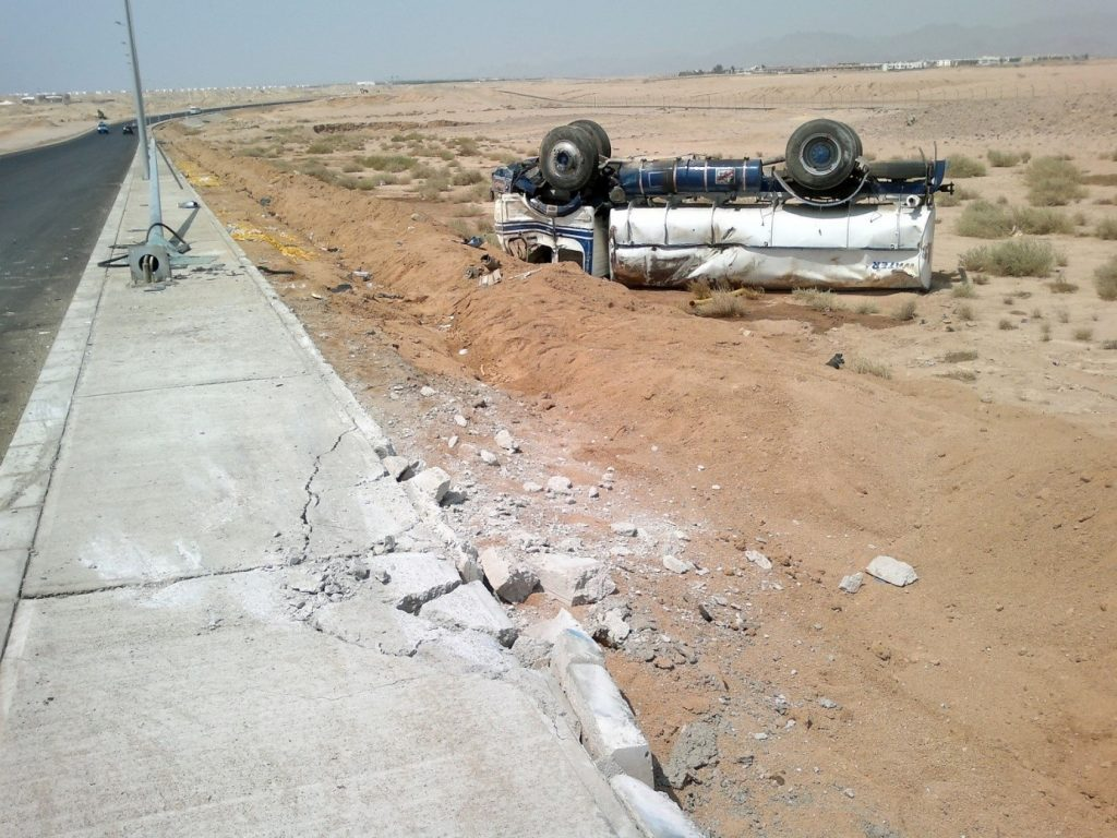 Driving in Egyptian style…and consequences